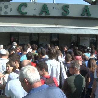 Поступление в продажу билетов на игру Молдова-Россия вызвало ажиотаж