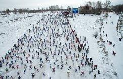 Всероссийская массовая лыжная гонка Лыжня России-2016