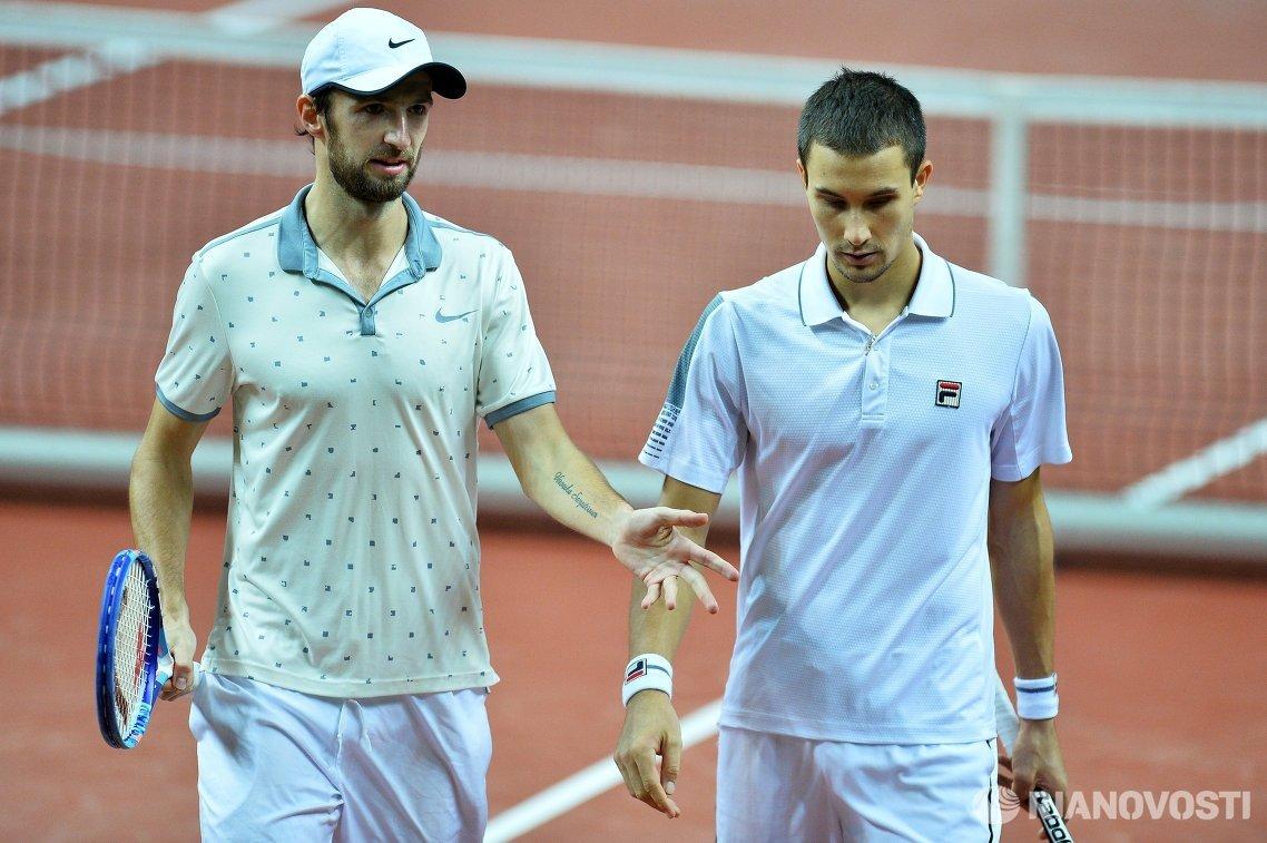 Константин Кравчук и Евгений Донской (слева направо)