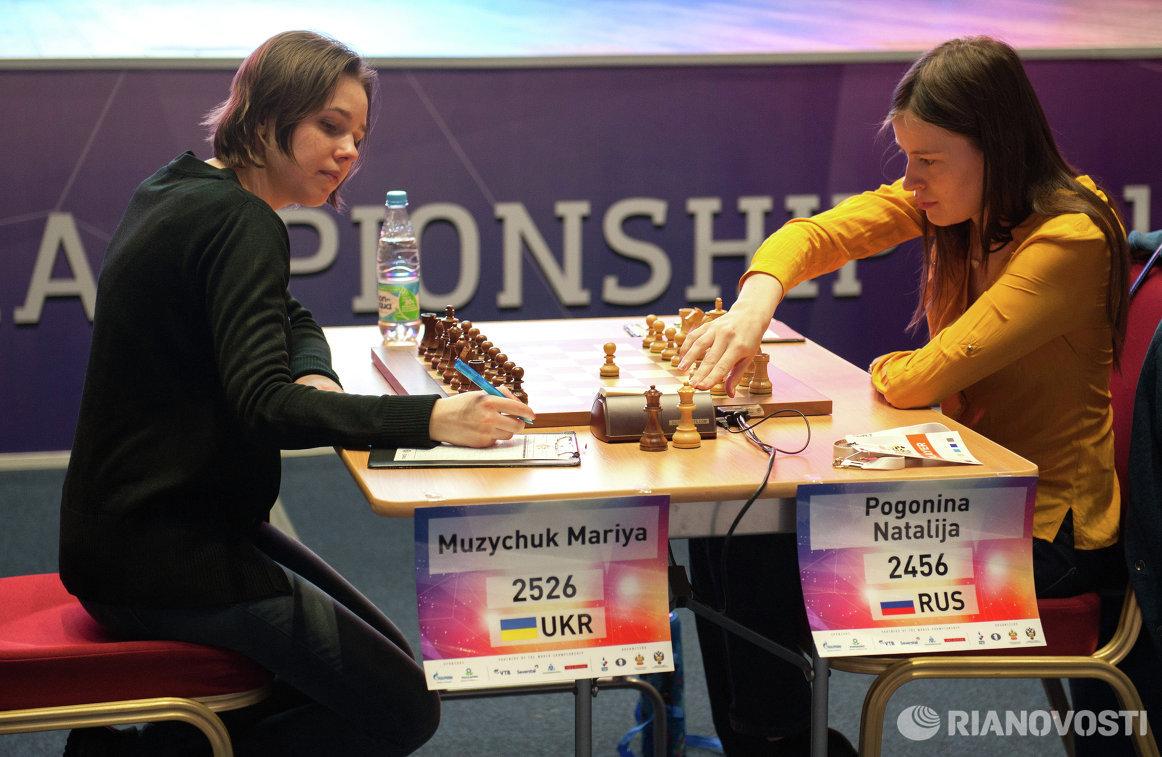 Мария Музычук (слева) и Наталья Погонина