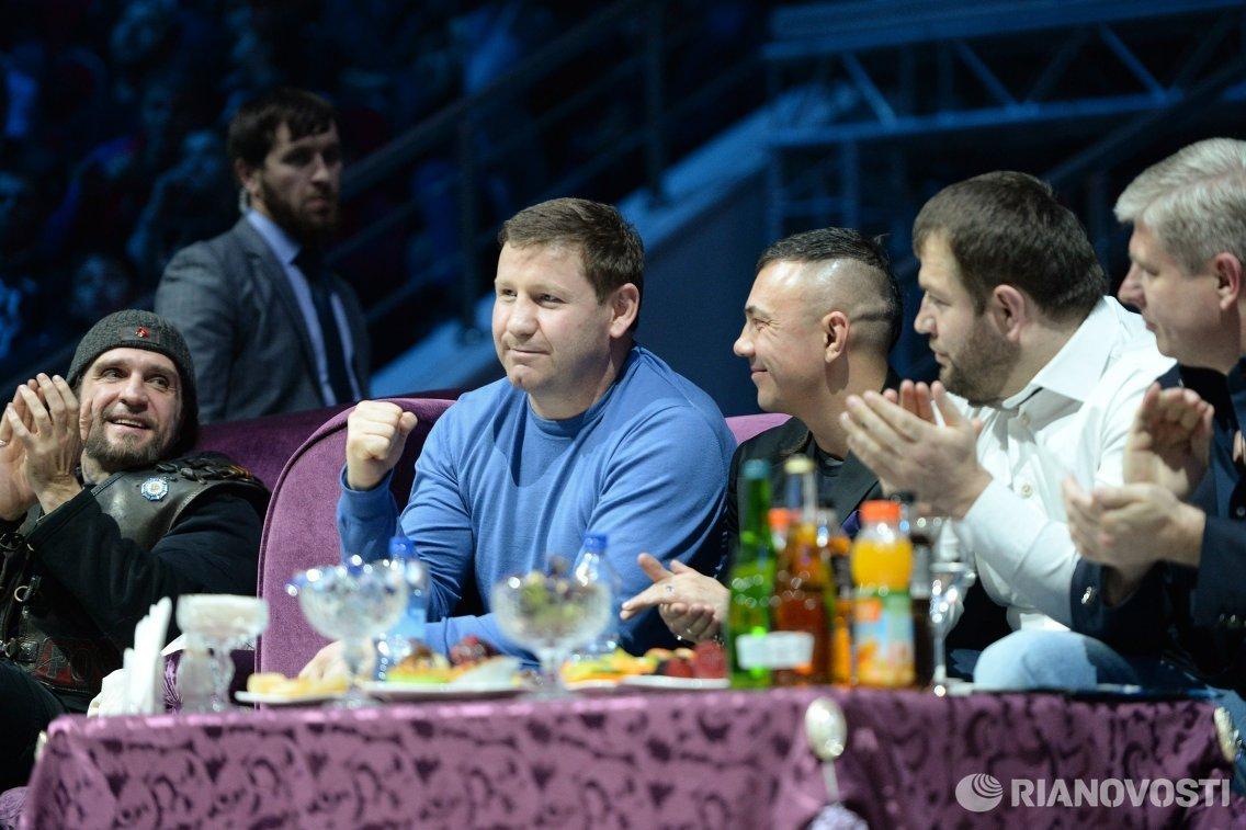 Александр Залдостанов (Хирург), Султан Ибрагимов и Константин Цзю (слева направо)
