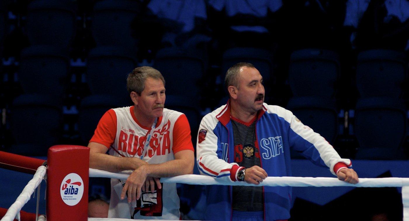 Филипп Яковлев и Александр Лебзяк (слева направо)