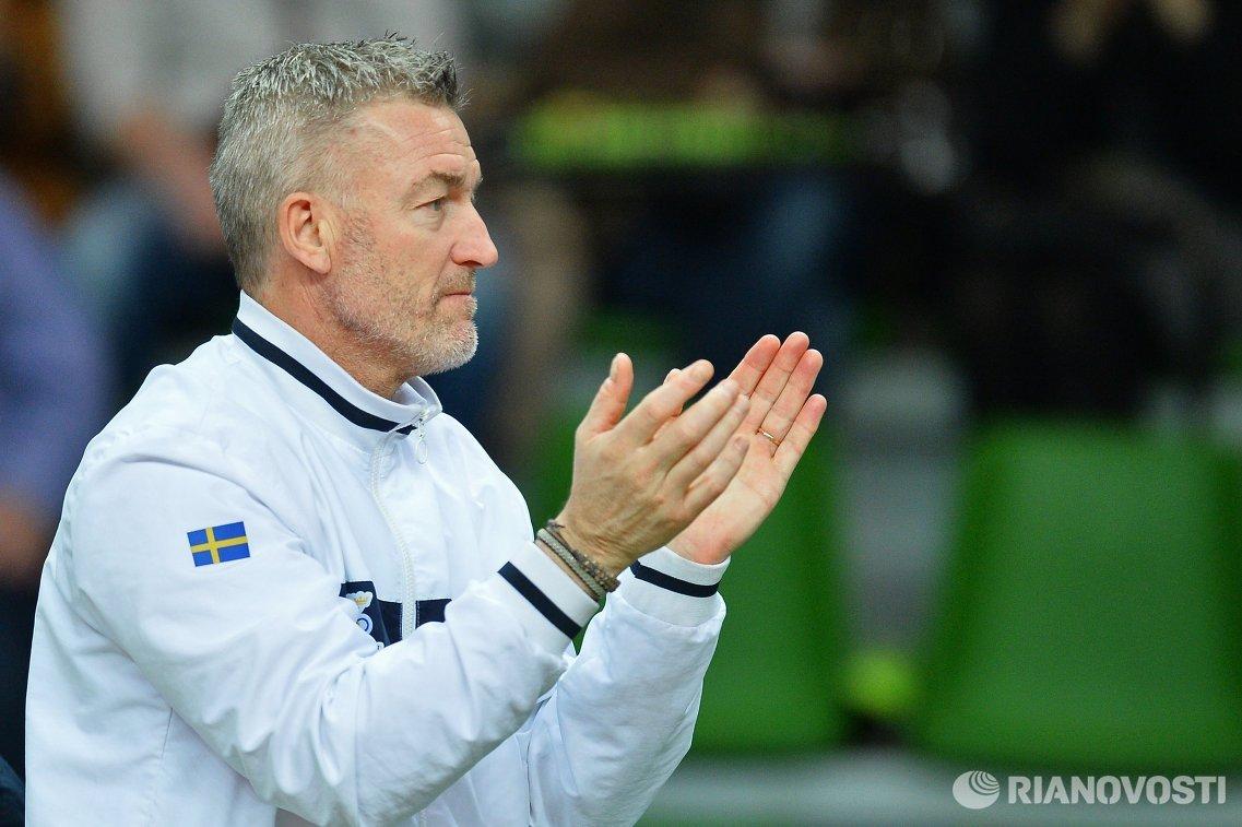 Капитан сборной Швеции Фредерик Розенгрен
