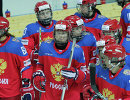 Игроки женской сборной России по хоккею
