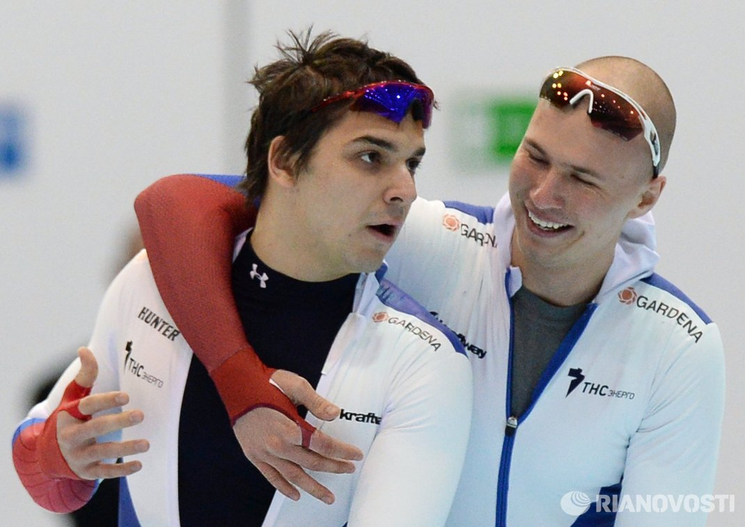 Руслан Мурашов и Павел Кулижников (слева направо)