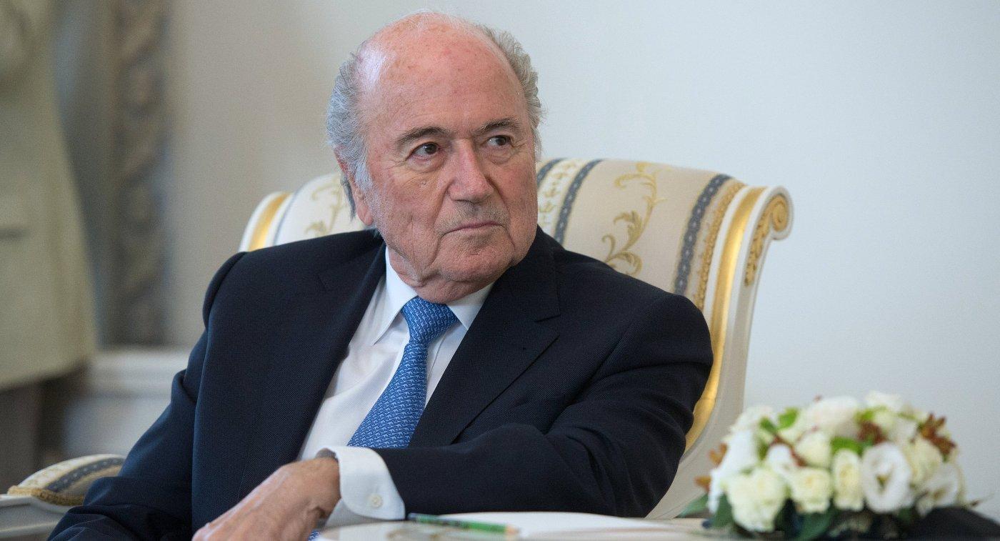 Прошлый президент ФИФА Блаттер выступил против применения системы видеопомощи арбитрам наЧМ