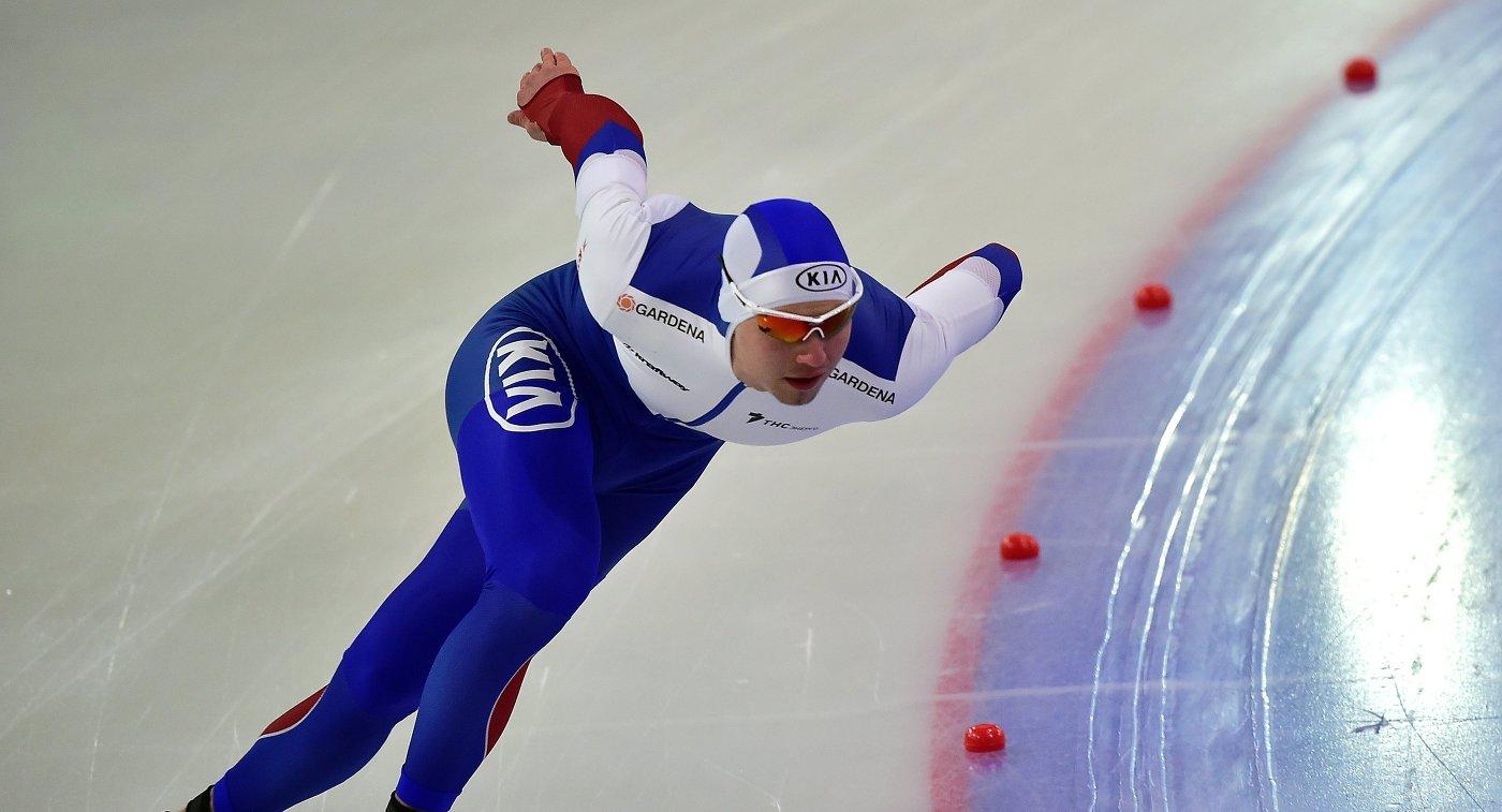 Русская  конькобежка Голикова завоевала бронзу наэтапеКМ вХеренвене