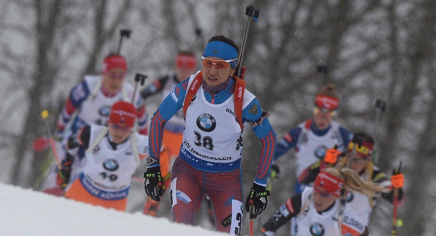 На первом плане: Дарья Виролайнен