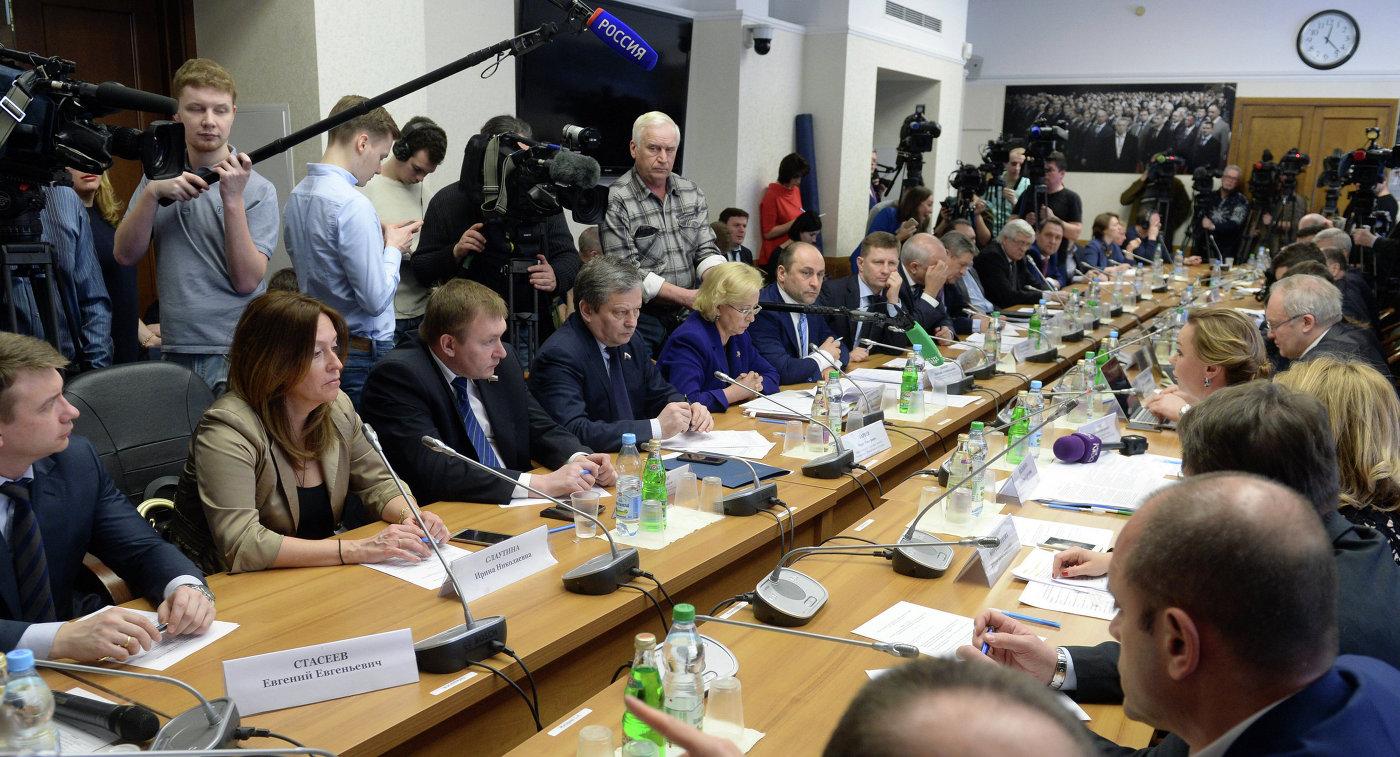 Экстренное совещание экспертного совета и комитета Госдумы по физкультуре, спорту и делам молодежи