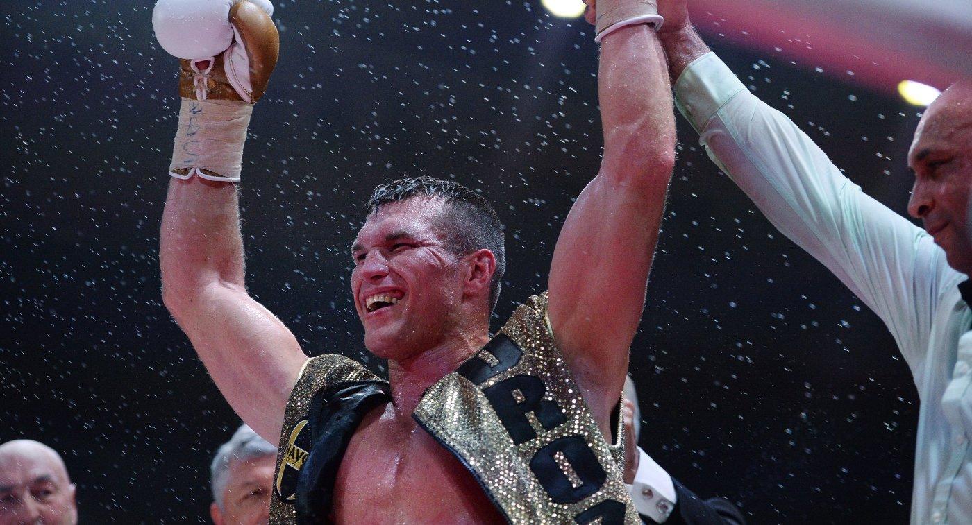 Российский боксер Григорий Дрозд