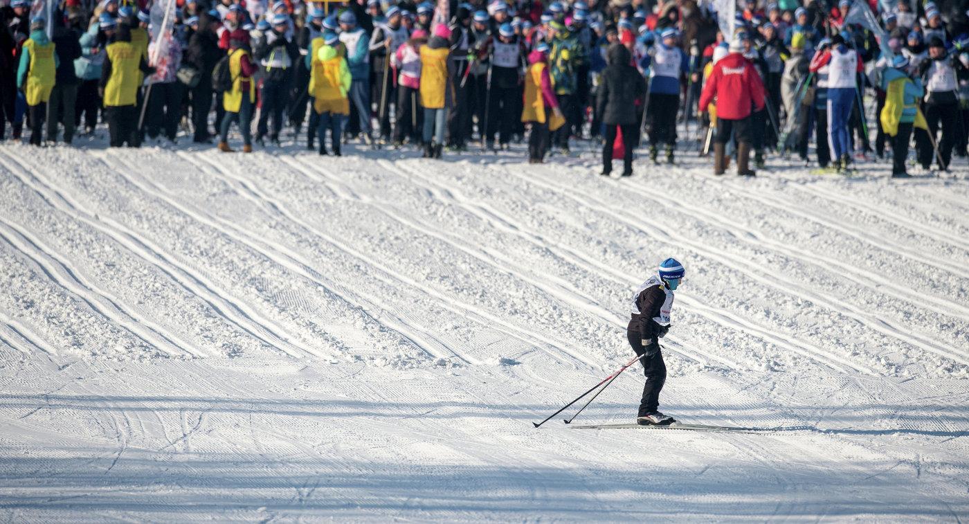 Всероссийская массовая лыжная гонка Лыжня России - 2016