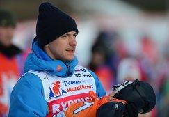 Лыжник Николай Морилов с сыном