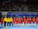 Игроки сборной России по гандболу