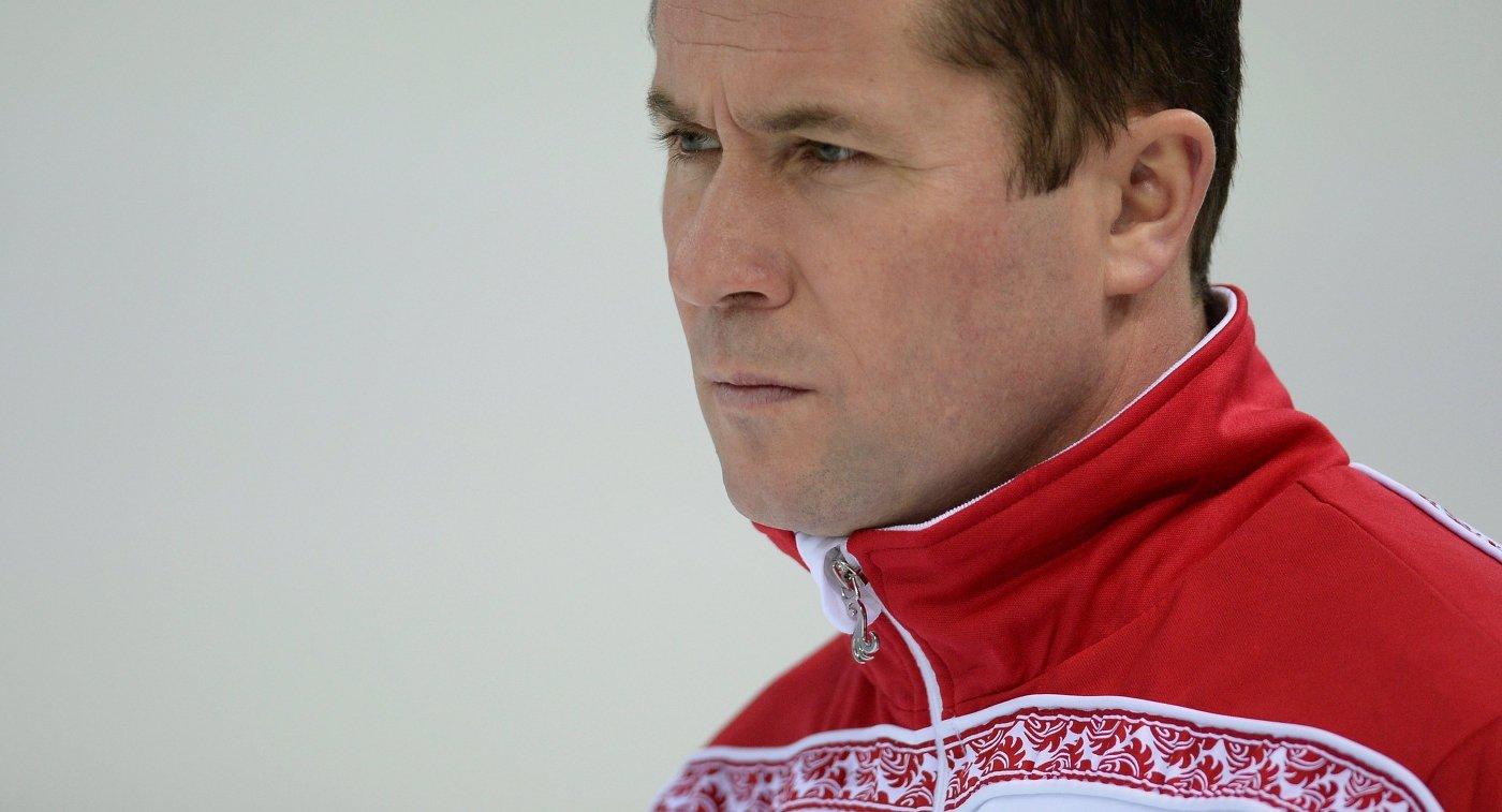 Тренер сборной России по конькобежному спорту Павел Абраткевич