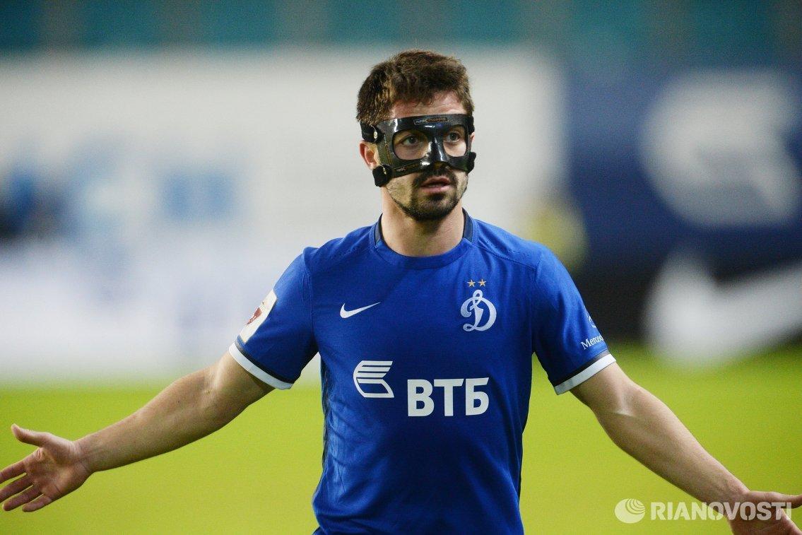Полузащитник Динамо Антон Соснин