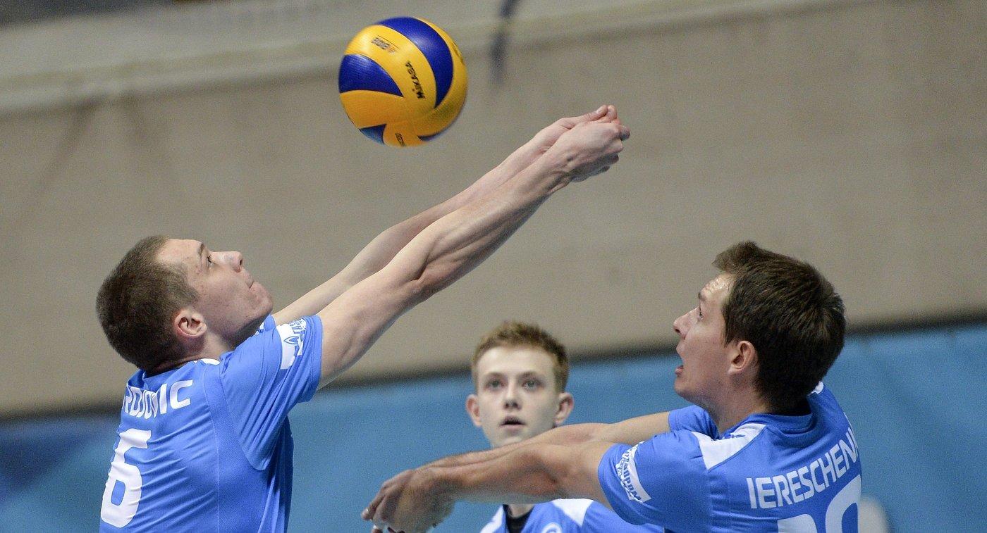 Волейболисты Газпром-Югры