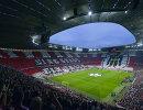 Стадион Альянц Арена перед матчем Бавария - Барселона