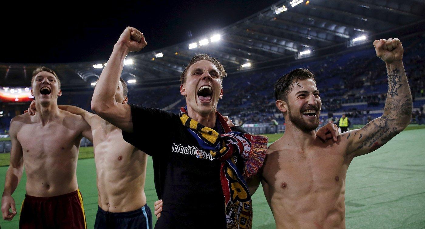Футболисты чешской Спарты