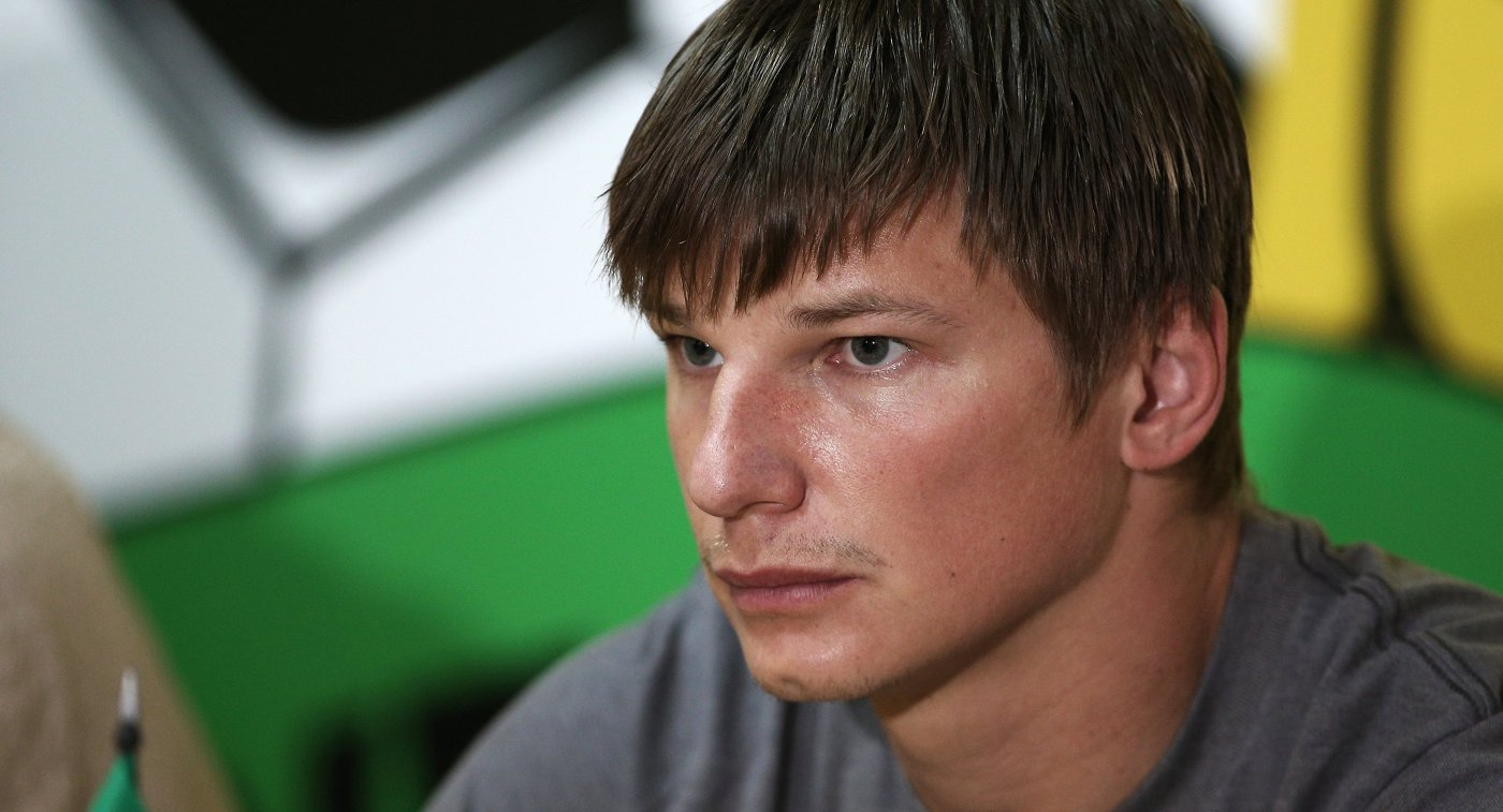 Нападающий ФК Кубань Андрей Аршавин