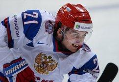 Форвард сборной России Андрей Локтионов