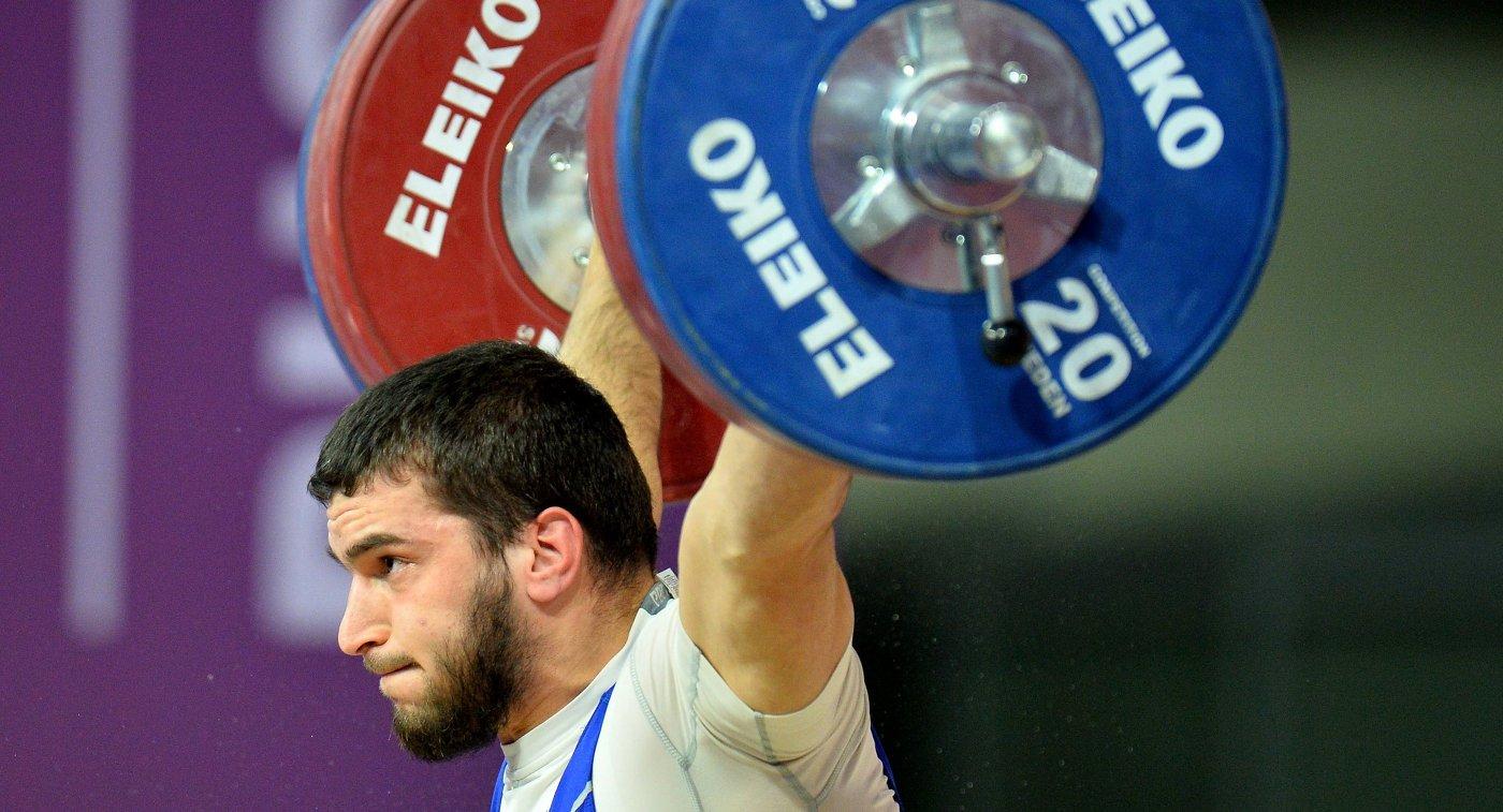 Наниев чемпионат по тяжелой атлетиуе