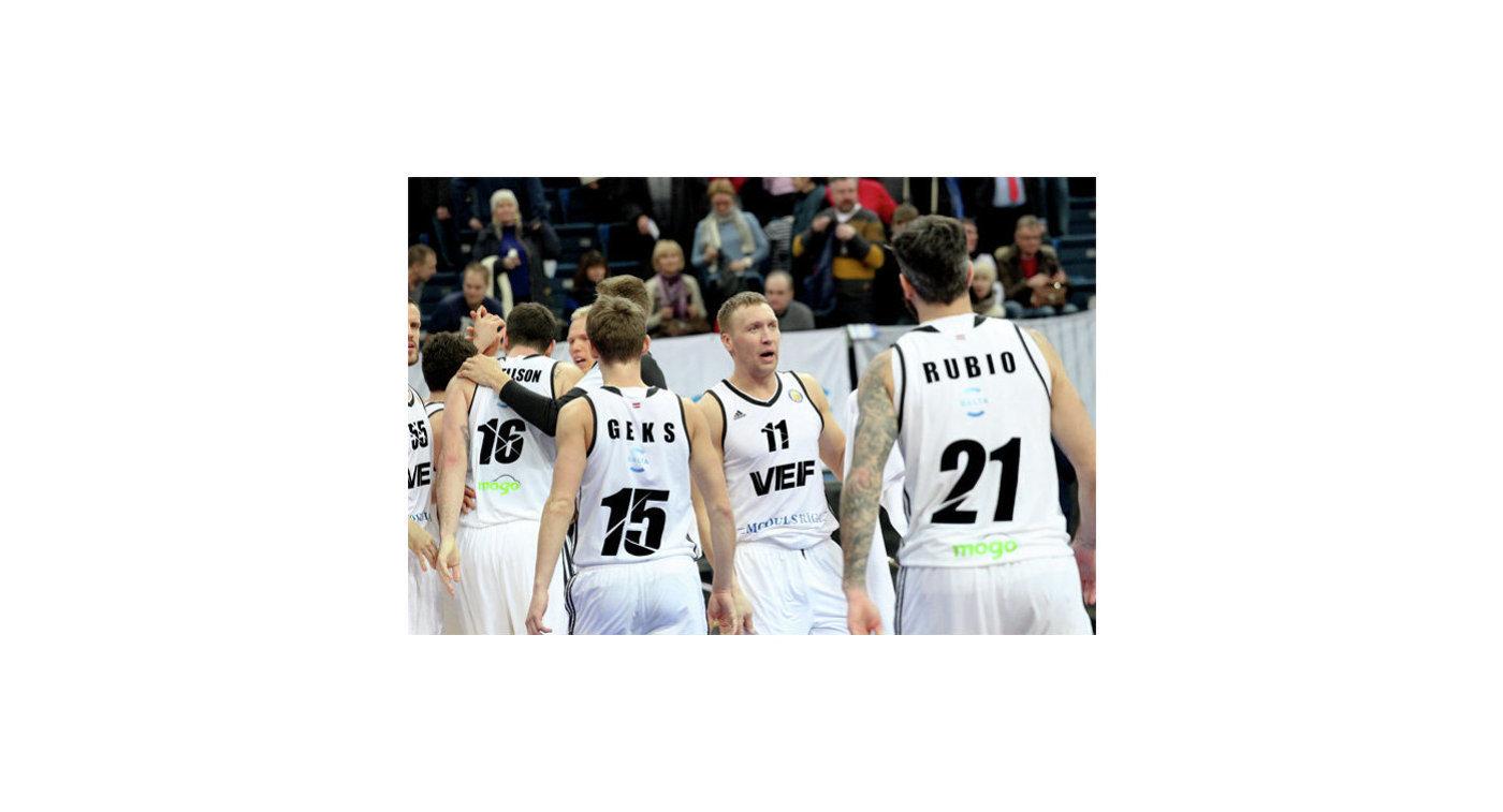 Баскетболисты ВЭФа