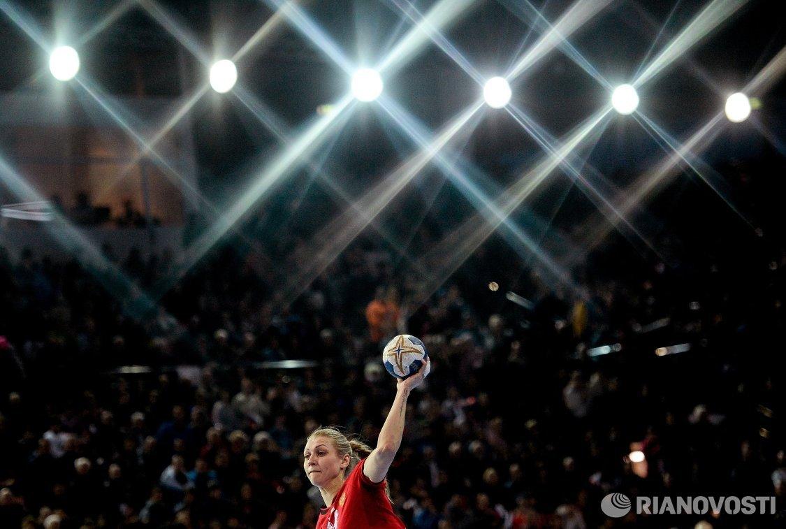 Гандболистка сборной России Ирина Близнова