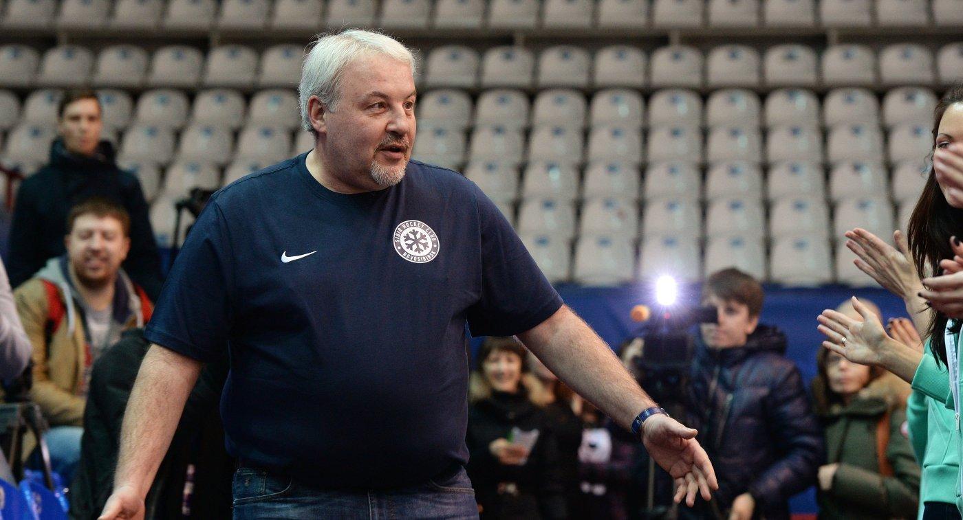 Генеральный менеджер ХК Сибирь Кирилл Фастовский