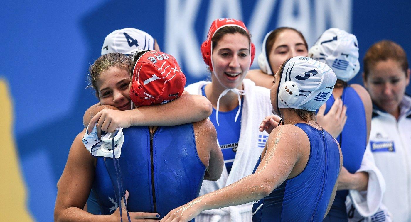 Женская сборная России выиграла серебро Кубка Европы, уступив вфинале Греции