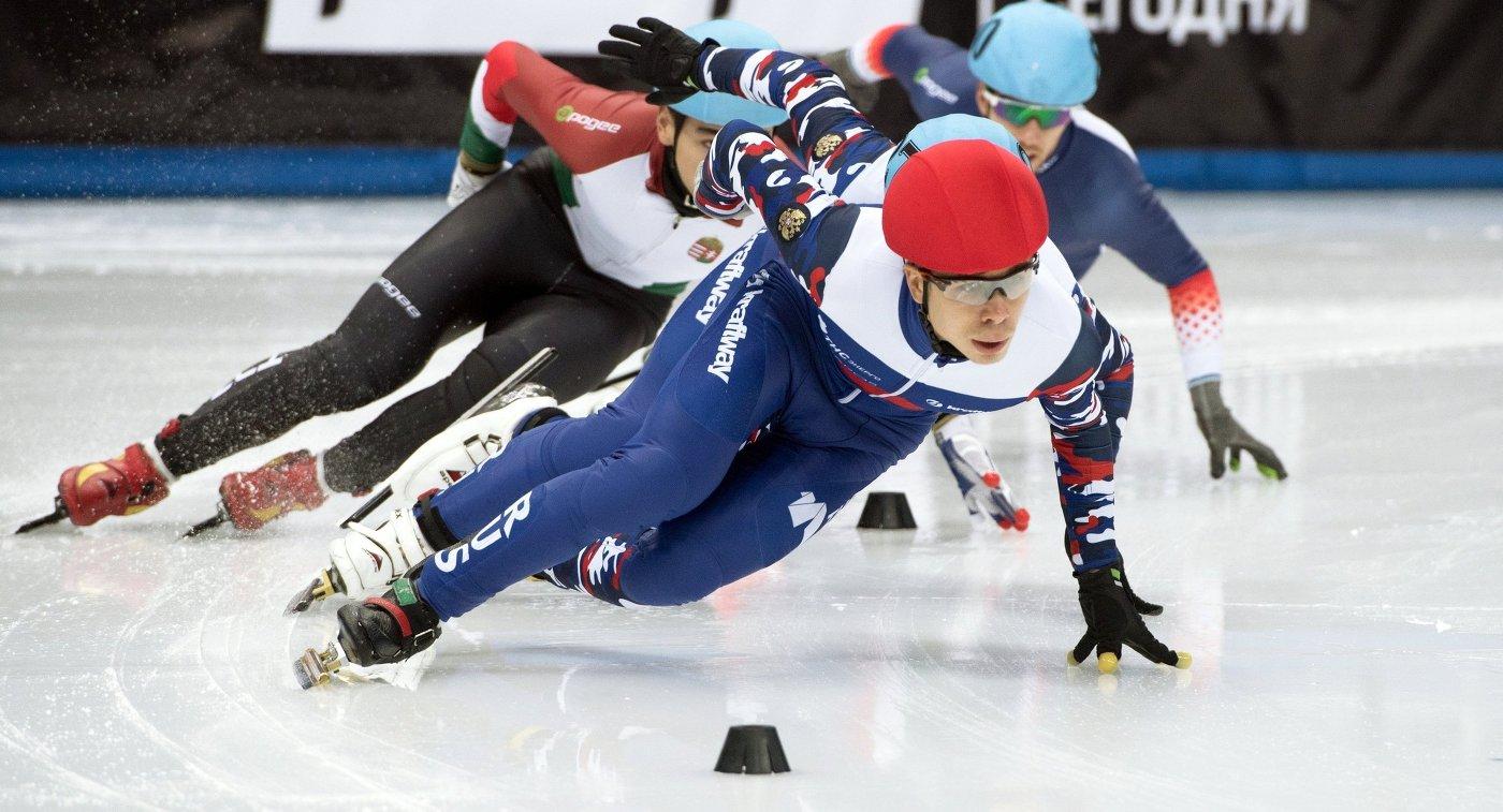 Русские шорт-трекистки рады первой медали всезоне Кубка мира— Захарова