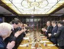 Подписание соглашения о проведении Международной конвенции СпортАккорд 2013 года в Санкт-Петербурге