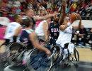 Паралимпиада - 2012. Баскетбол сидя. Матч США - Италия
