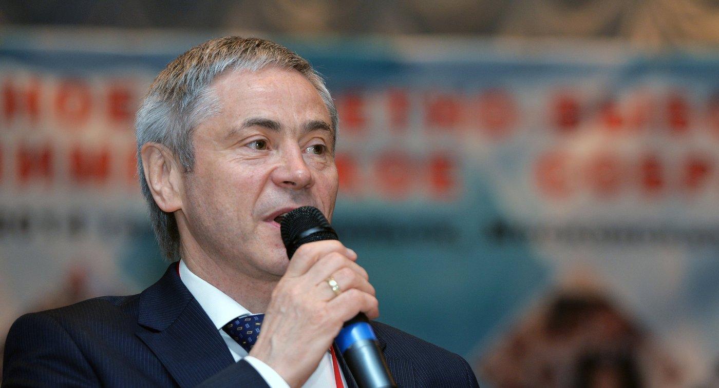 Председатель исполкома паралимпийского комитета России (ПКР) Павел Рожков