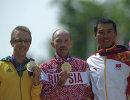Джаред Таллент, Сергей Кирдяпкин и Сы Тяньфэн (слева направо)