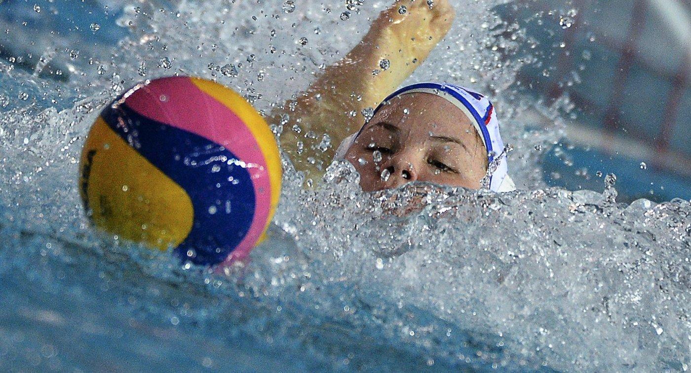 Игрок сборной России по водному поло Мария Борисова
