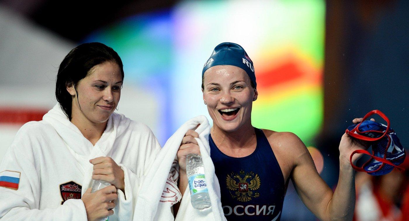 Анна Карнаух (слева) и Евгения Иванова