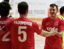 Игроки мини-футбольного клуба КПРФ