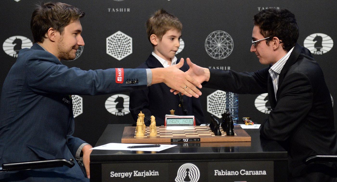 Грищук сыграл вничью сКарякиным нашахматном турнире претендентов