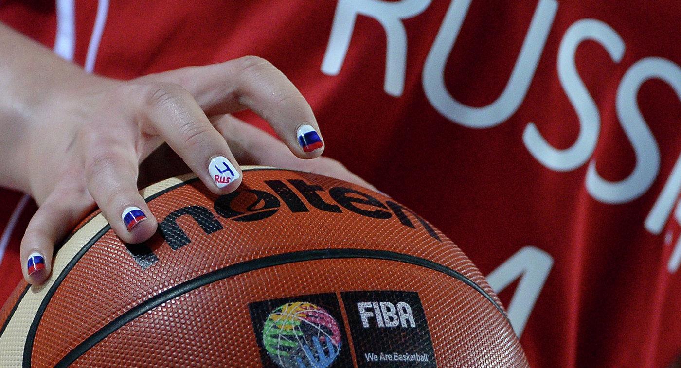 Баскетбол мяч. Женщины