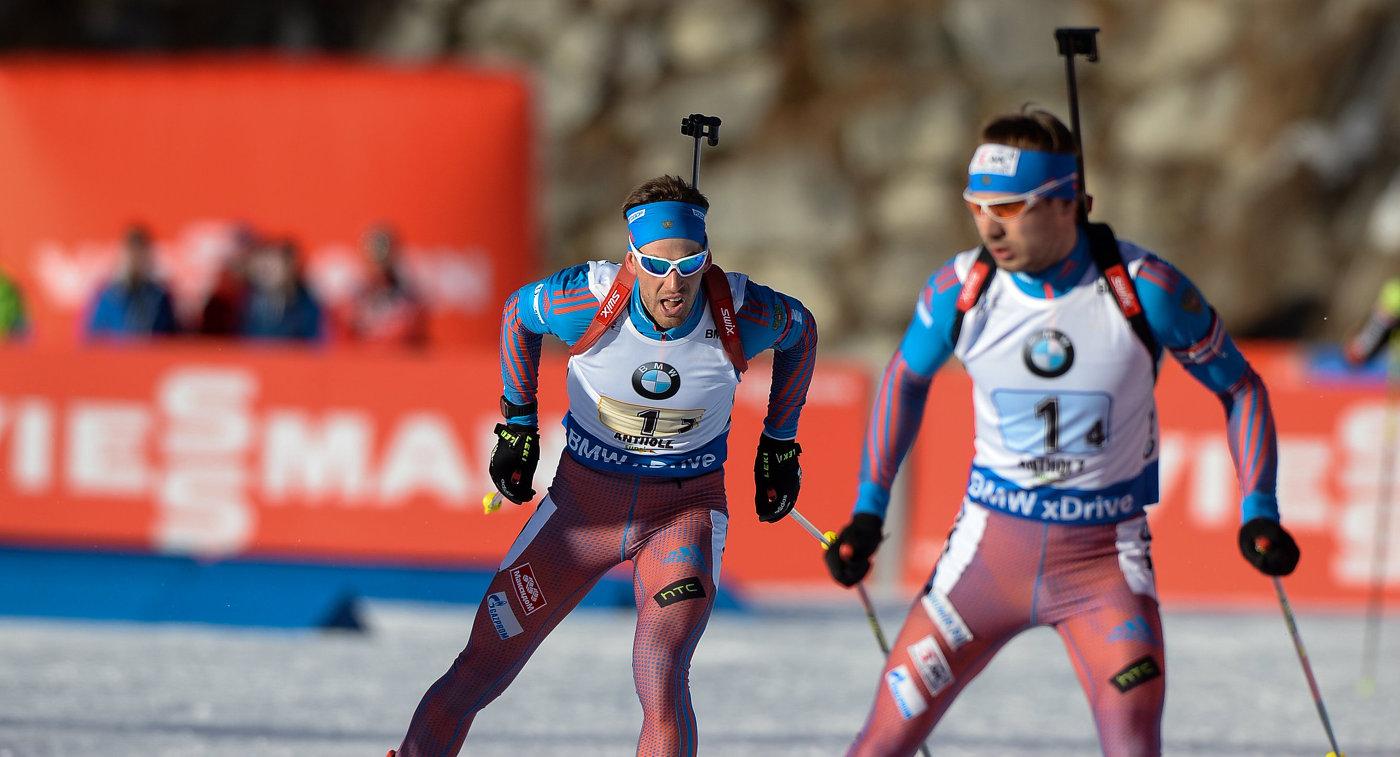 Слева направо: Дмитрий Малышко (Россия), Антон Шипулин (Россия)