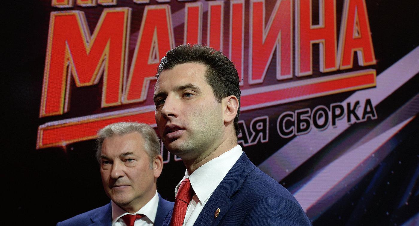 Член правления КХЛ, советник председателя Совета директоров КХЛ, вице-президент хоккейного клуба СКА Роман Ротенберг