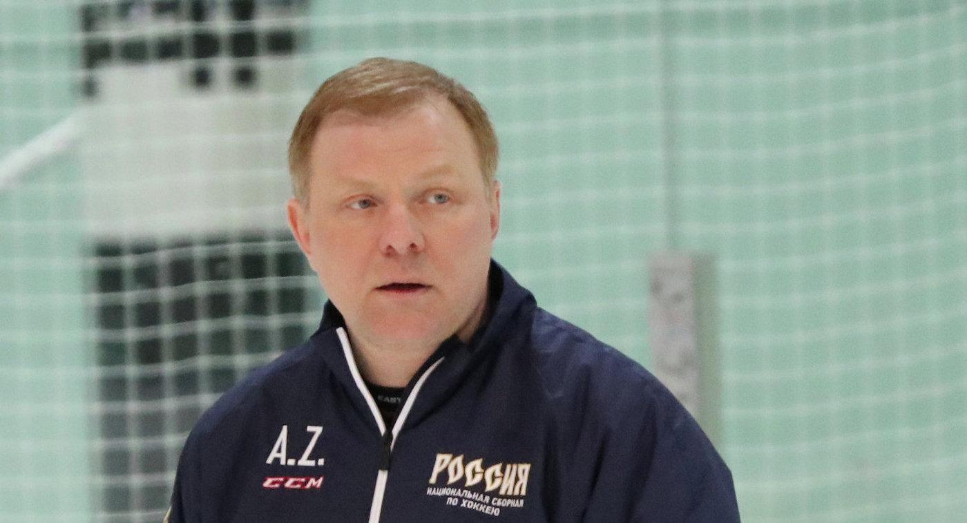 Глава селекционной службы сборной России по хоккею Алексей Жамнов