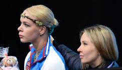 Анна Погорилая (слева) и тренер Анна Царева