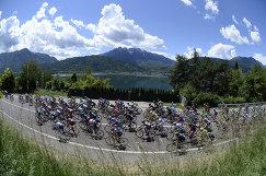 Велогонщики на Джиро д'Италия