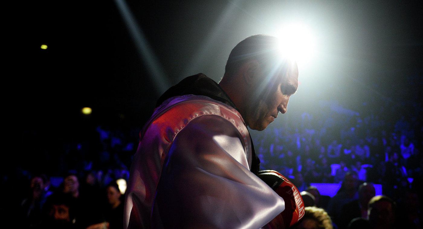 Российский боксер Александр Устинов