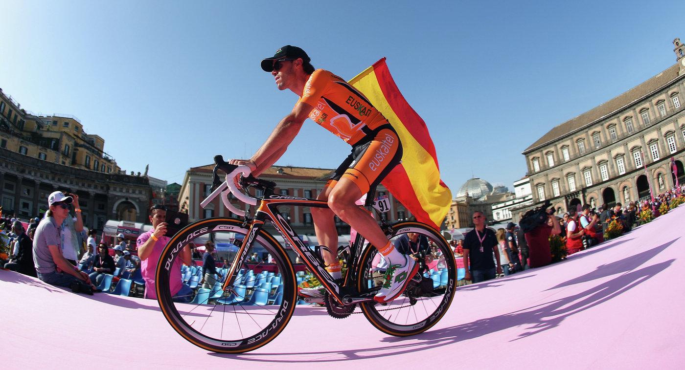 Чемпион ОИ-2008 испанский велогонщик Самуэль Санчес провалил допинг-тест