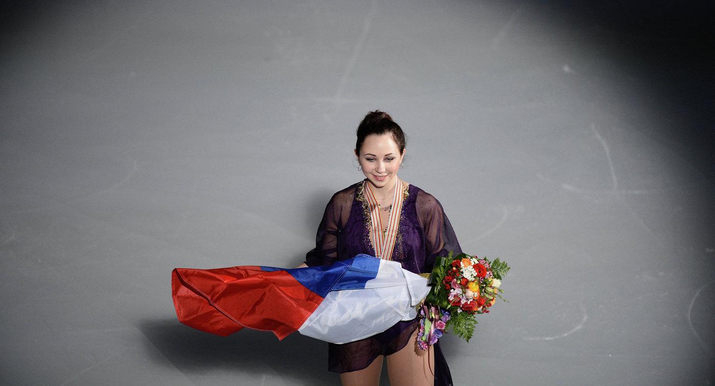 Россиянка Елизавета Туктамышева