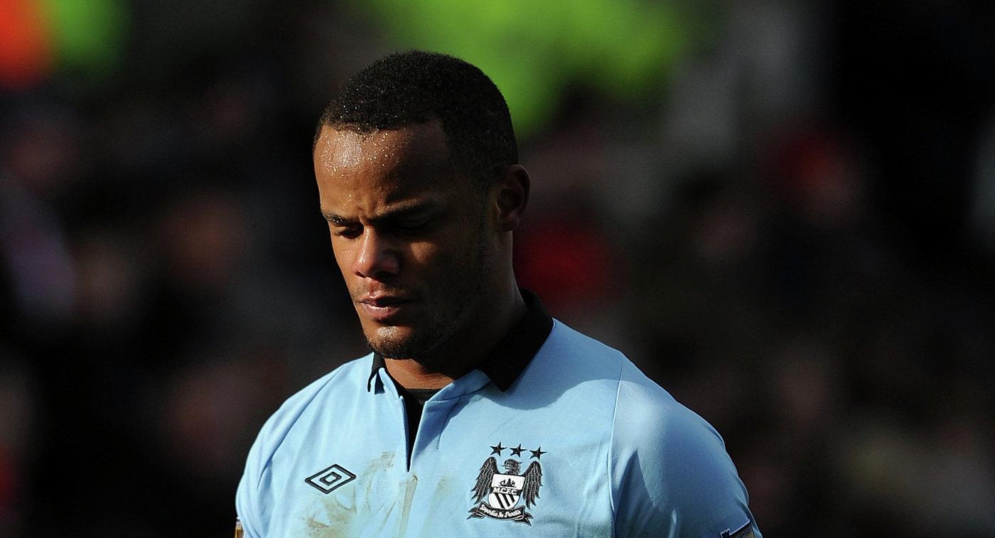 Капитан «Манчестер Сити» Компани выбыл надлительный срок из-за травмы