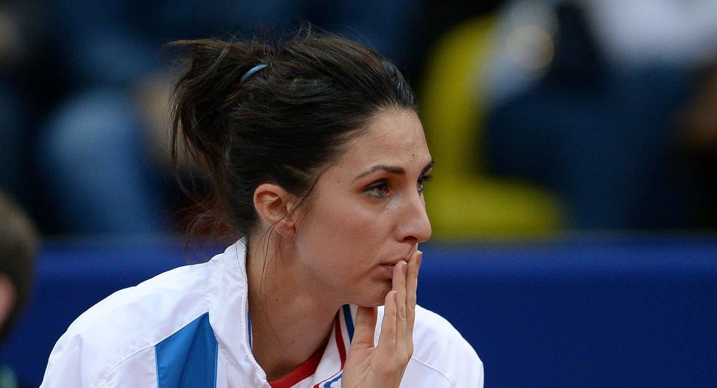 Капитан женской сборной России по теннису Анастасия Мыскина