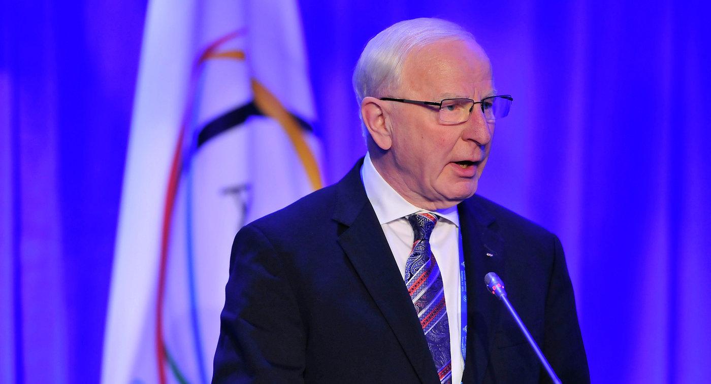 Президент Европейских олимпийских комитетов (ЕОК) Патрик Хикки
